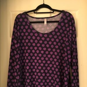 Lynnae Long Sleeve Top by Lularoe